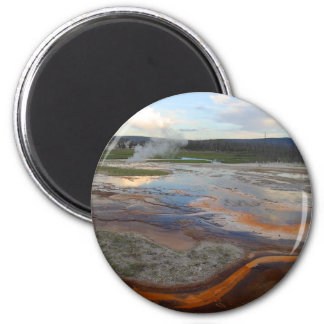 Yellowstone Thermal Pools Magnet