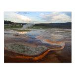 Yellowstone Thermal Pools Post Card