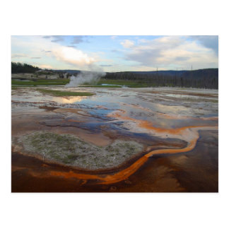 Yellowstone Thermal Pools Post Card