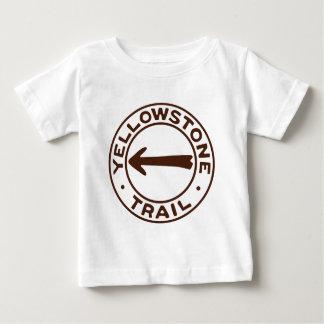 Yellowstone Trail Baby T-Shirt
