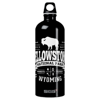 Yellowstone Vintage Aluminum Water Bottle