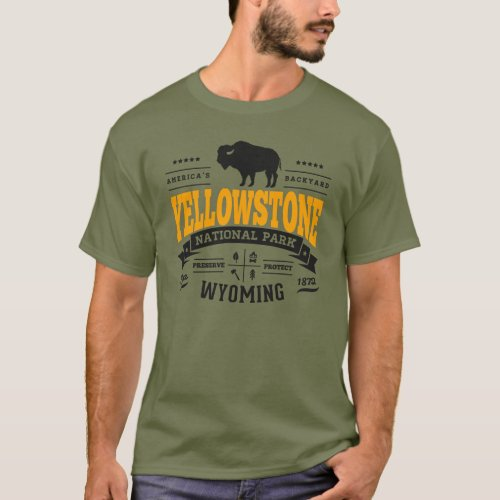 Yellowstone Vintage Gold T-Shirt