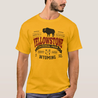 Yellowstone Vintage Maroon T-Shirt