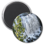 Yellowstone Waterfall 2 Inch Round Magnet