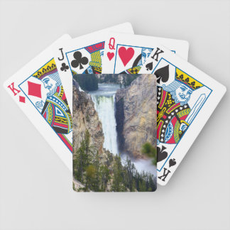 YELLOWSTONE WATERFALL BICYCLE PLAYING CARDS