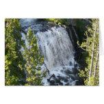 Yellowstone Waterfall Card