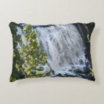 Yellowstone Waterfall Decorative Pillow
