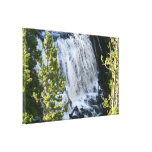 Yellowstone Waterfall in Yellowstone National Park Canvas Print