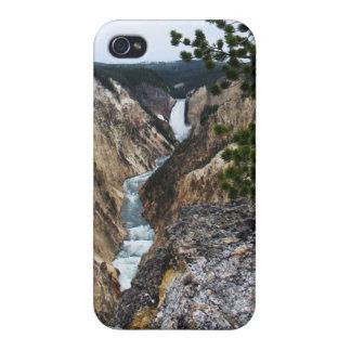 Yellowstone Waterfall iPhone 4 Case
