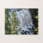 Yellowstone Waterfall Jigsaw Puzzle