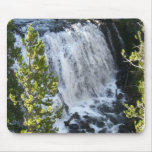 Yellowstone Waterfall Mouse Pad