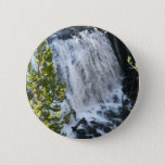 Yellowstone Waterfall Pinback Button