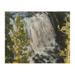 Yellowstone Waterfall Wood Wall Art