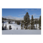 Yellowstone Winter Landscape Photo Poster