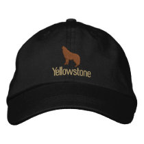 Yellowstone Wolf Embroidered Baseball Cap