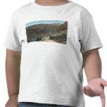 Yellowstone, WY - carretera de Yellowstone y Camiseta