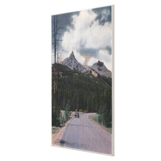 Yellowstone, WY - Index & Pilot Peaks, Cooke Gallery Wrapped Canvas