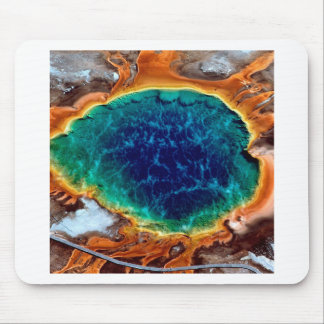 Yellowstone Wyoming Mouse Pad
