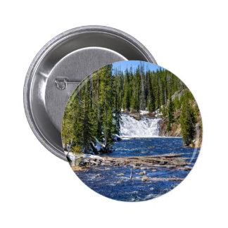 Yellowstone Wyoming Pin Redondo 5 Cm