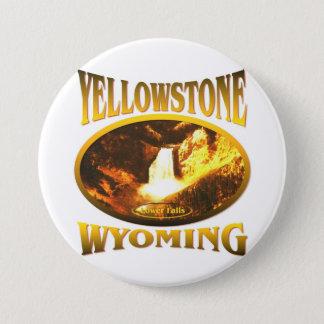 Yellowstone Wyoming Pinback Button