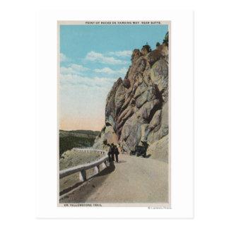 Yellowstone, WYVacationers, coche viejo, cerca Tarjetas Postales