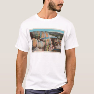 Yellowstone, WYView of Mammoth Hot Springs T-Shirt