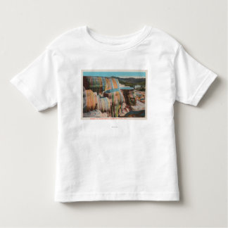 Yellowstone, WYView of Mammoth Hot Springs Toddler T-shirt