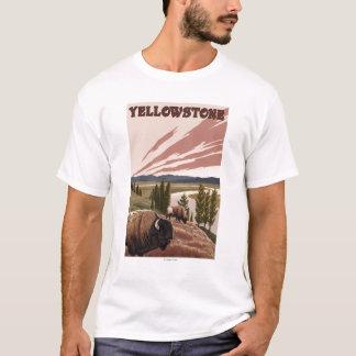YellowstoneBison Scene T-Shirt