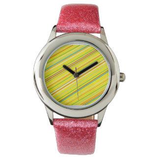 Yellowstripe Watch