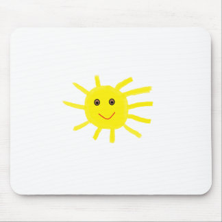 yellowsun mouse pad