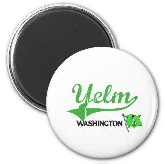 Yelm Washington City Classic Refrigerator Magnet