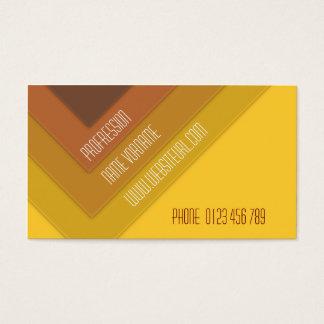yelow business card