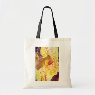 yelow Speckled Yellow flowers Tote Bag