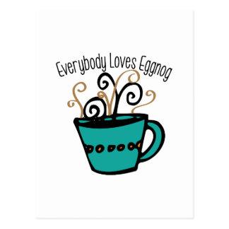 Yema del amor tarjeta postal