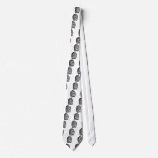 yema del dedo corbata personalizada
