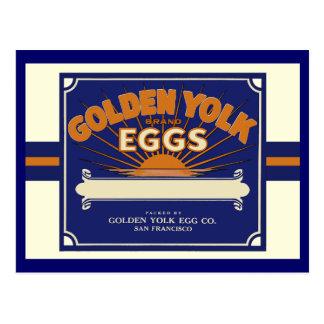Yemas de huevo de oro de San Francisco Postal