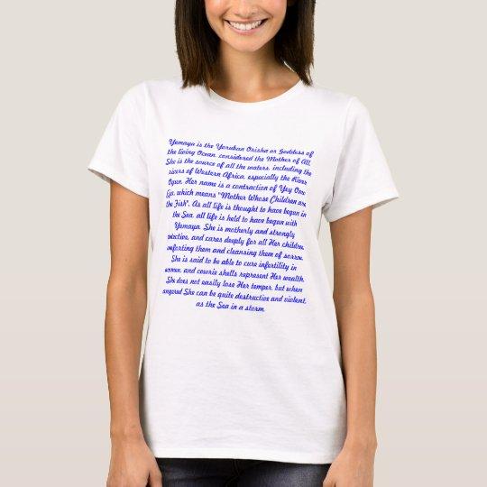 YEMAYA DESCRIPTION T-Shirt