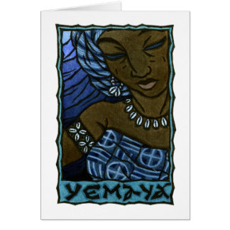 Yemaya Greeting Card