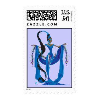 Yemaya Postage Stamps
