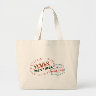 Yemen Been There Done That Large Tote Bag