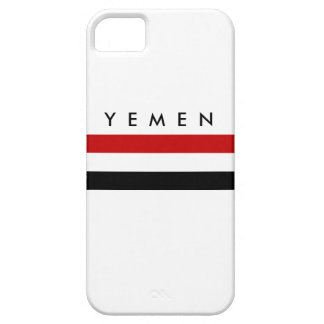 yemen country long flag nation symbol name iPhone SE/5/5s case