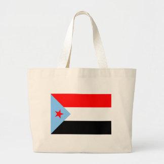 Yemen del sur Flag (1967) Bolsa Tela Grande