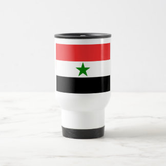 Yemen Flag (1962-1990) 15 Oz Stainless Steel Travel Mug