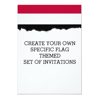 Yemen flag card