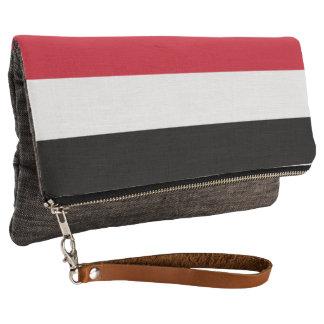 Yemen Flag Clutch
