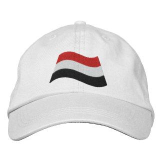 Yemen Flag Embroidered Hat