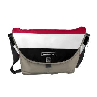 Yemen flag messenger bag