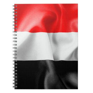 Yemen Flag Notebook