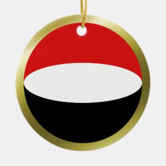 Yemen Flag Ornament