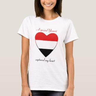 Yemen Flag Sweetheart T-Shirt